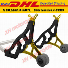 Universal Racing Motorcycle Sport Rear Combo Wheel Lift Stands Paddock Stands YW