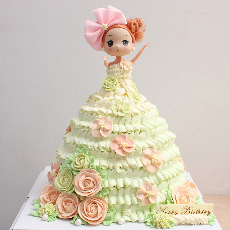 Barbie Doll Cake Without Pan