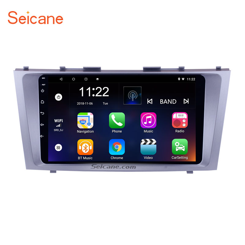 Seicane IPS Android 8 1 for 2007 2008 2009 2010 2011 TOYOTA CAMRY Car Multimedia Player
