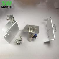 CNC Buildlog 2X Laser aluminum alloy Gantry End Plates Laser Mirror Mount kit Laser Reflection Mirror Mount Lens carriage plate