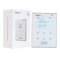 Digital LCD thermometer hygrometer monitor temperature humidty data logger recorder hunidity sensor tester