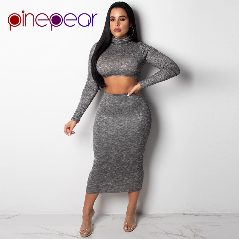 Detail Feedback Questions about PinePear New Fashion Reversible Dress 2019  Winter Women Open Front Back Long Sleeve Turtleneck Dresses Plus Size  Casual ... 1709119c7b02