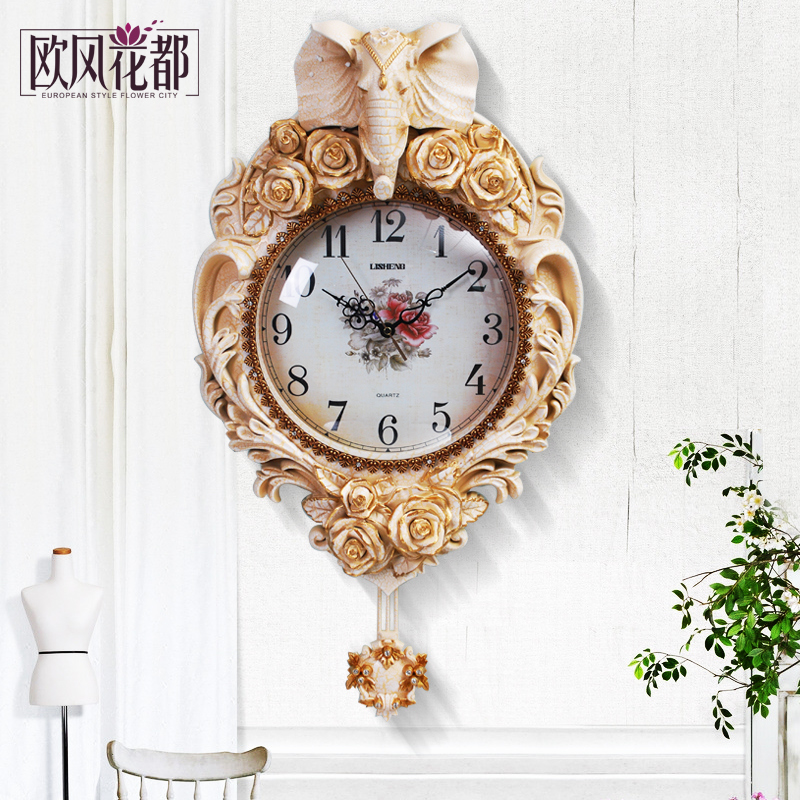 European clock quartz watch elephant living room atmosphere of modern minimalist modern high for The elephant in the living room watch online