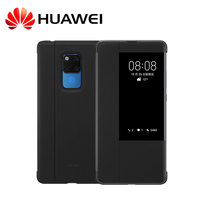 Original Huawei Mate 20 Pro Case Official Smart Wake up Sleep PU Leather Window Flip Cover Case For Huawei Mate 20 Mate20 Pro
