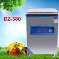 DZ-380 상업용 진공 식품 실러 진공 포장기 가족 비용 진공 기계 진공 실러 차 조리 식품