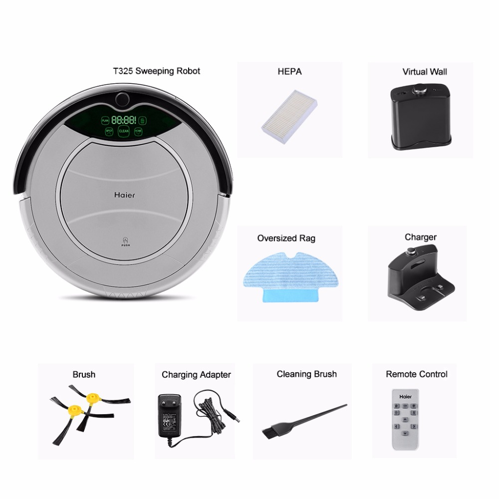 Haier Pathfinder Robot Vacuum Cleaner Automatic Charging Floor
