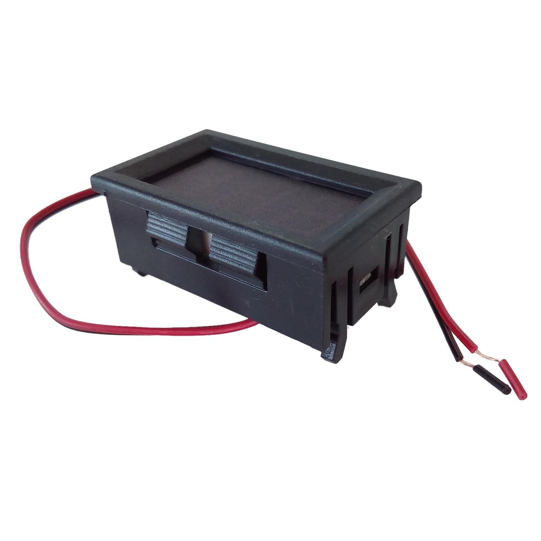 1 шт. 2.5-30 В (или 4.5-30 В) DC мини-автомобиль Двигатель Красный светодиод Цифровой вольтметр Вольт Напряжение Панель метр горячей продажи
