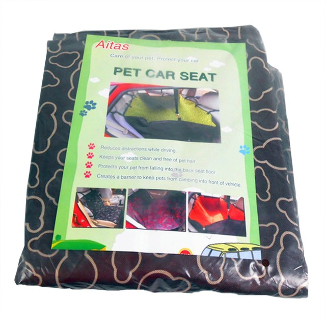 Car Pet Back Seat Cover Thicken Durable Pet Cushion