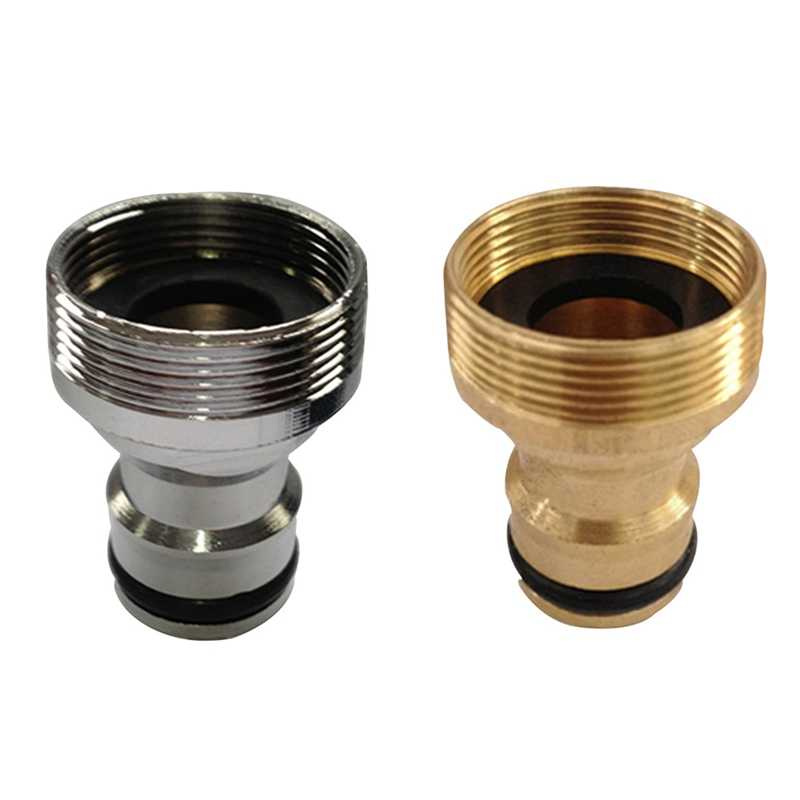 Hot Tap Brass Garden Hose Pipe Tube Quick Connector Watering Equipment Spray Nozzle Freeshipping