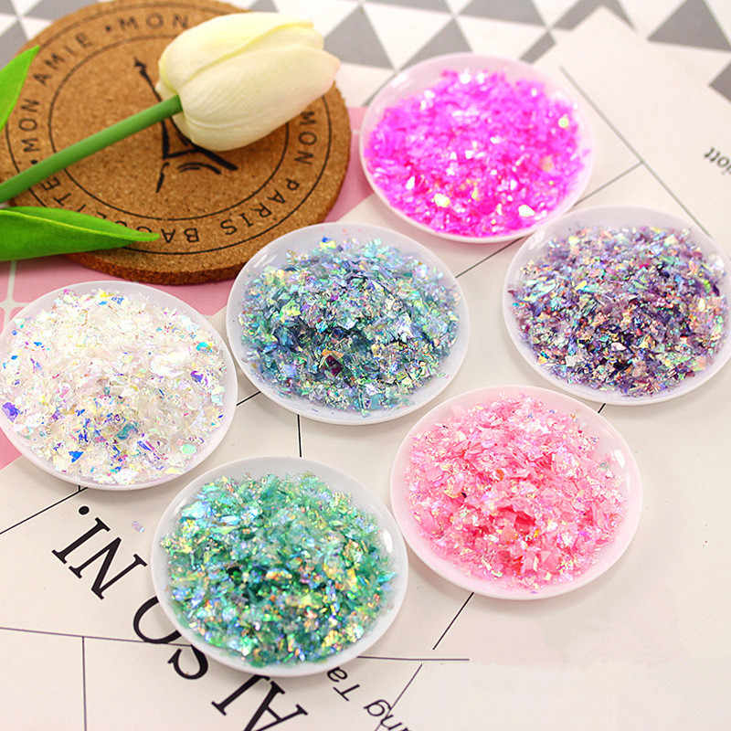 20g/bag Slime Filling Paper DIY Handmade Crystal Clay Mud Mix Filling Accessory Slime Charm Filling Decoration