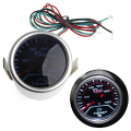1 set 52mm 52mm Car Universal Smoke Lens LED Pointer Oil Temp Temperature Gauge Meter Car Truck Parts Gauges