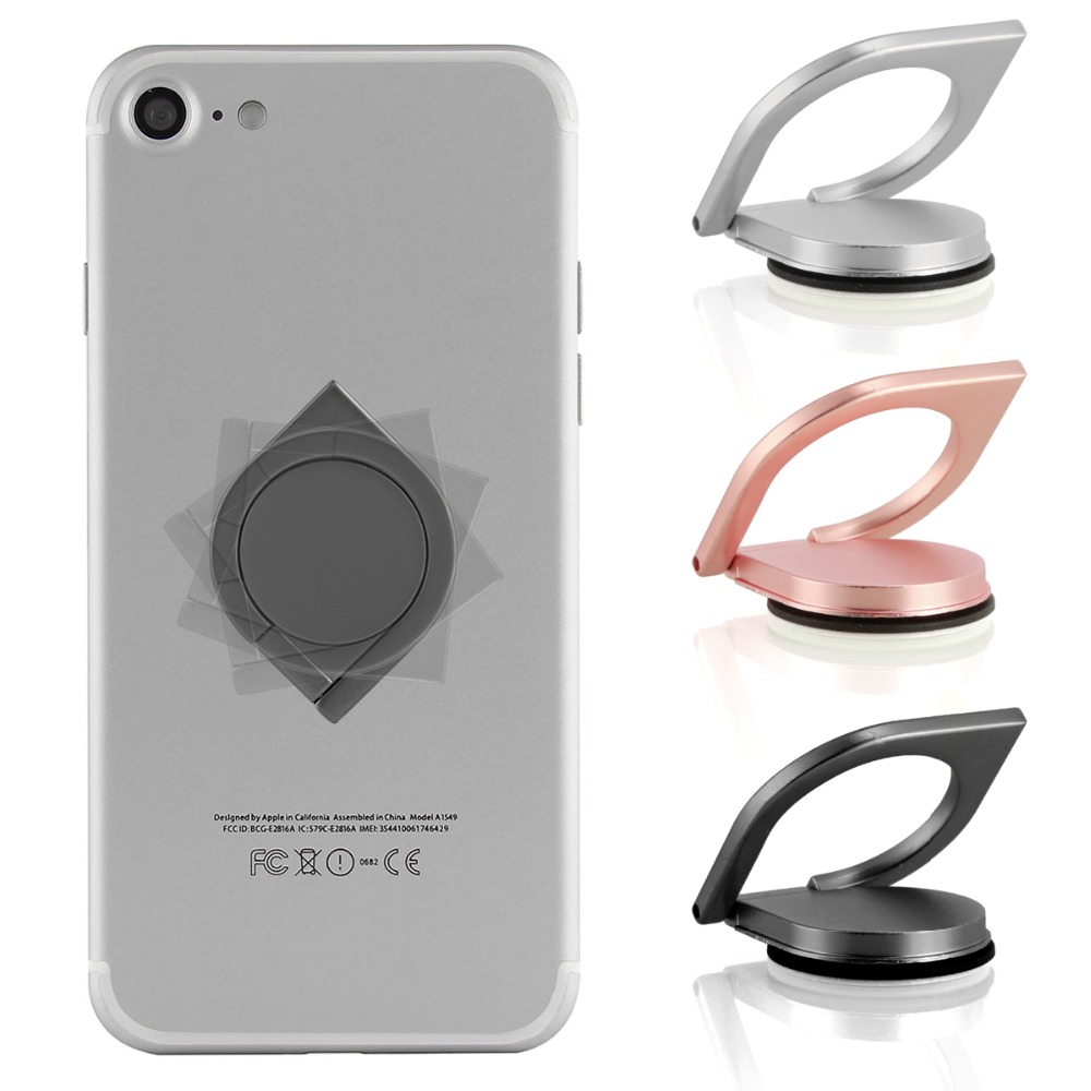 Newest Fashion Fidget Spinner Finger Top Gyro Universal Mobile Phone Stand Holder Smartphone Finger Ring For IPhone Samsung