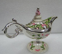 Statue Decoration Factory Outlets Lamp Legend Phnom Penh Blue Pink Wishing Lamp Pot Russian Tea Pot