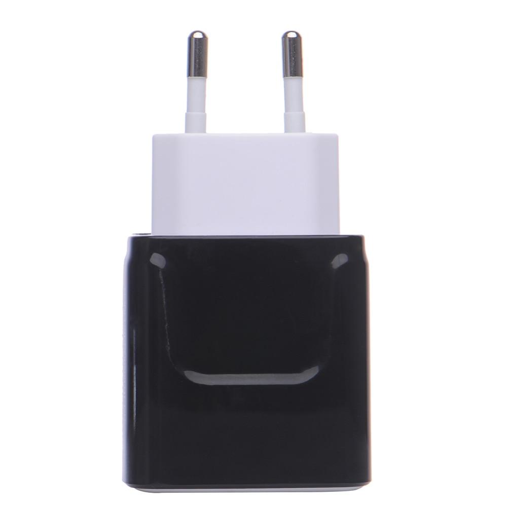 Oplader til telefonoplader 3.1A Dual USB-portvæg Hjemrejse - Mobiltelefon tilbehør og reparation dele - Foto 3