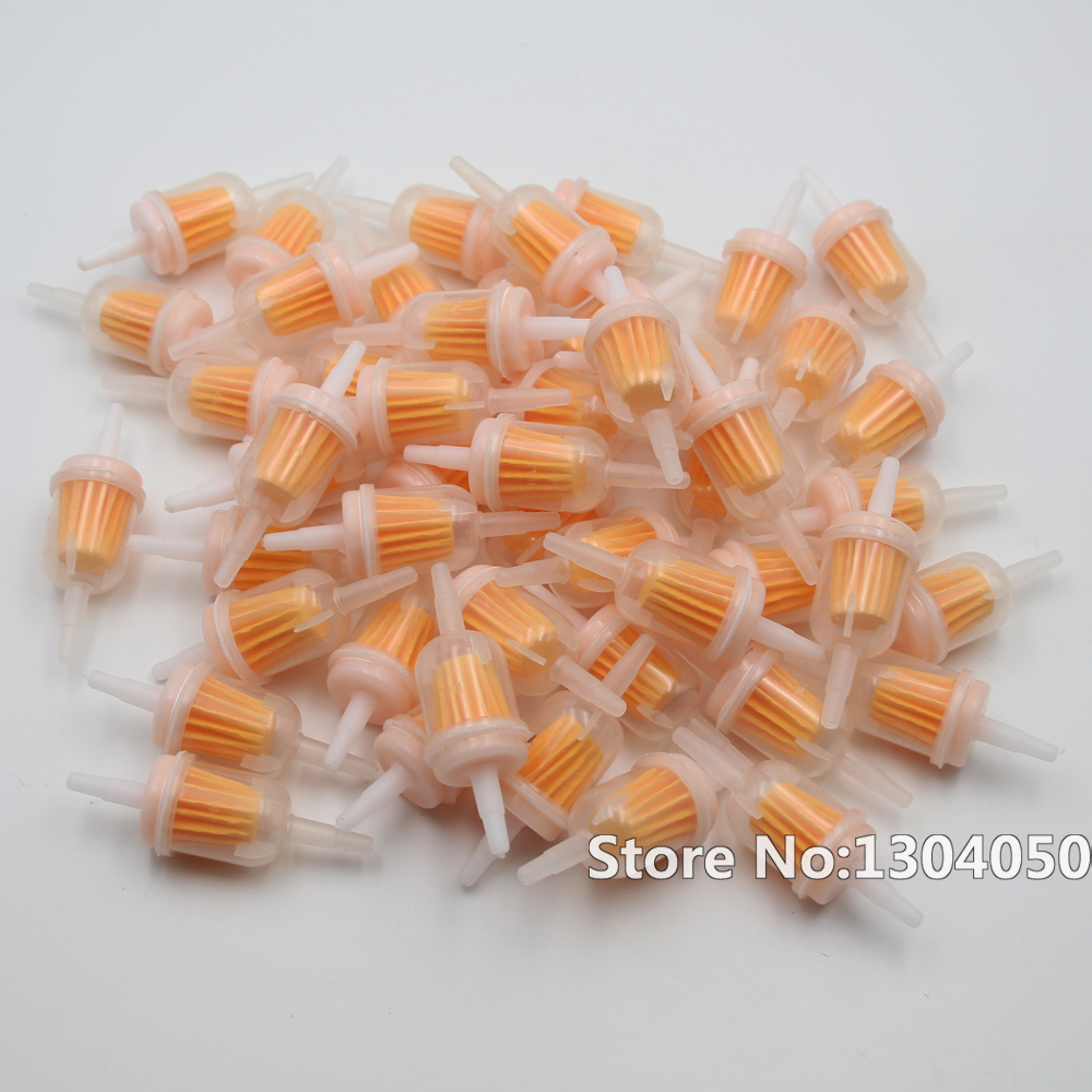 hight resolution of 50x small engine 6mm 8mm 1 4 plastic inline gas fuel filter new