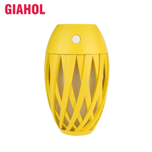 цена GIAHOL 320ml Mini Portable Air Humidifier USB Super Mute air freshener LED Night Light Cool Mist Maker Air Purifier for home car