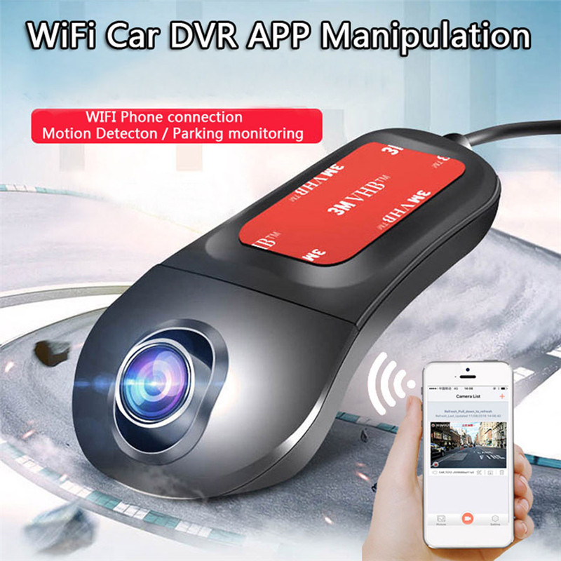 NT96655 Full HD Night Vision Car Dvr Camera 1080P IMX322 Dashcam Two Lens Video Recorder Auto Wifi Camcorder Dash Cam цены онлайн