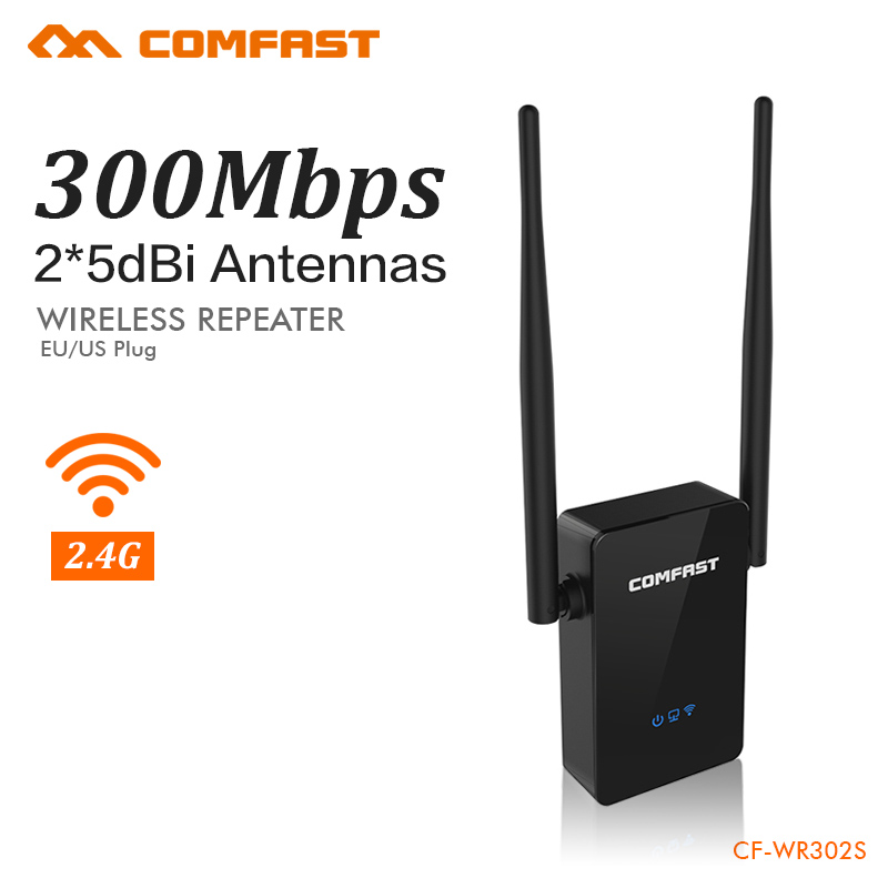 COMFAST Wireless Wifi Repeater 300Mbps 802.11b/g/n Network Extender Signal Wifi Amplifier Signal Booster Repetidor CF-WR302S
