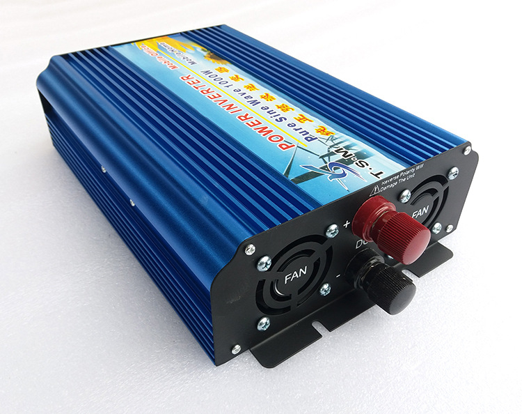 цена на 1000W Pure Sine Wave Solar Inverter 24V to 220V Off Grid Power Inverter Car Power Bank Converter 12V/48V DC to 120V/230V/240V AC