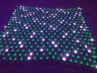 Все Черный провод индивидуально led полный цвет чистый пикселей; DC12V WS2811 контролируется; 20 светодиодов (2 м) * 20 светодиодов (2 м)