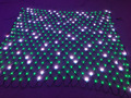 All BLACK wire Individually LED full color net pixel;DC12V WS2811 controlled;20leds(2m)*20leds(2m)
