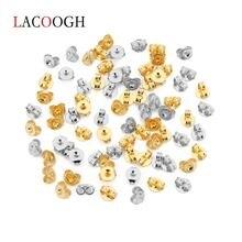 Lacoogh 200 шт/лот 2 вида цветов золотые затычки для ушей из