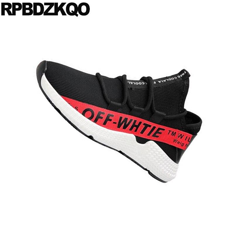 Black Red Conforto Yellow Alta Preto Qualidade Skate Up White black De Designer Style black Verão Formadores Respirável 2018 Borracha Tênis Casual Street Lace Sapatos Homens HFBtSxwqw
