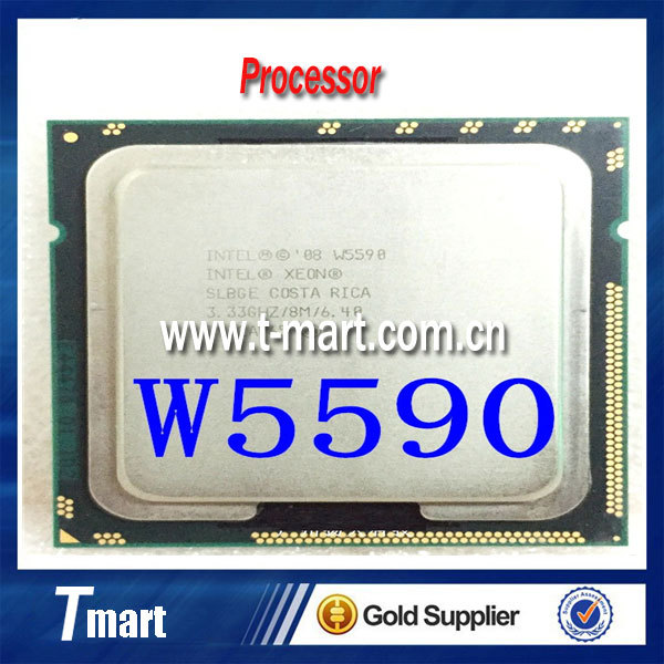 100% рабочих Процессоров Для Intel Xeon Процессор 3.33 ГГц W5590/LGA1366/8 МБ Quad Core CPU Полностью Протестированы