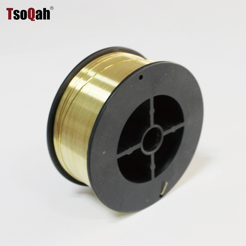 0.8mm/1.0mm/1.2mm Brass Welding Wire Electrode 1kg Per Reel