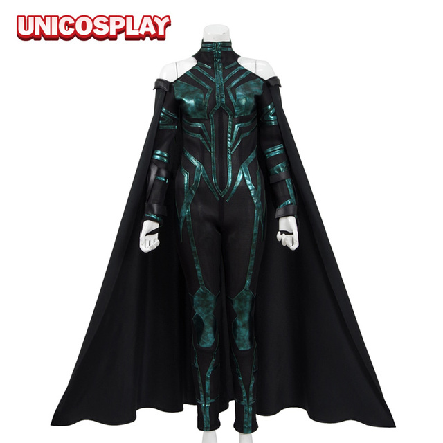 Thor 3rd Ragnarok Hela Cosplay Costume 2017 Goddess of ...