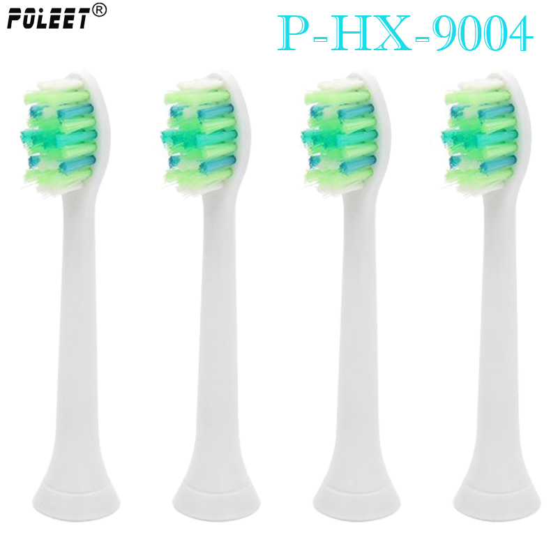 400PCS Lot P HX 9004 HX9004 Electric Toothbrushes Replacement Heads For Philips Toothbrush Head Banister Brush