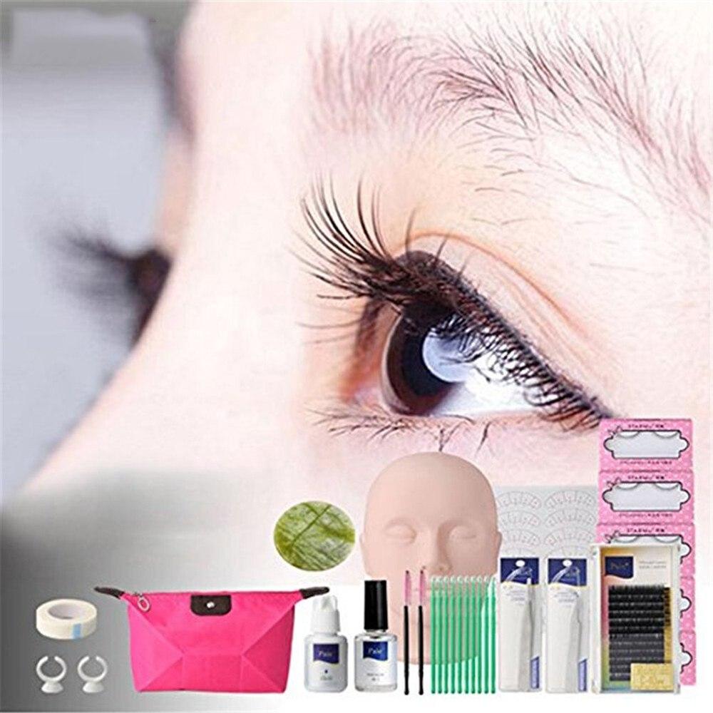 6a54ee0c930 ... False Eyelashes Extension Practice Exercise Kit Makeup Mannequin Head  Set Grafting Eyelash Tools Kit Practice Eye. HTB1t_kbXTZRMeJjSspnxh7JdFXax