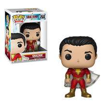 Funko POP figures movie figura DC Shazam! super heroes action figure pvc collection model kids gifts toys dolls with box 10CM б гнеденко а хинчин элементарное введение в теорию вероятностей
