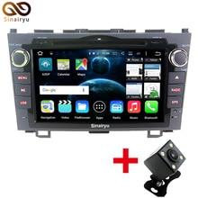 Sinairyu Cota HD Core 1024*600 Android 6.0 Del Coche DVD GPS Unidad Principal para Honda CRV CR-V 2006 2007 2008 2009 2010 2011 BT Wifi Radio