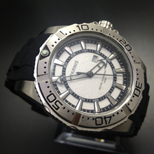 Fashion 45mm Parnis Stainless Steel Case Water Resistant 100M Men s Quartz Watch White Dial
