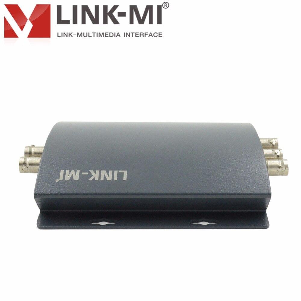 LINK-MI LM-PSY01 Professional SD / HD / 3G SDI v YPbPr pretvornik - Domači avdio in video - Fotografija 3