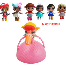 Surprise Doll Dolls Dress up Funny font b Toys b font Action Figure With Feeding Bottle