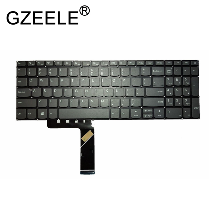 GZEELE English laptop keyboard For Lenovo IdeaPad 320-15 320-15ABR 320-15AST 320-15IAP 320-15IKB 320S-15ISK 320S-15IKB BLACK gzeele english laptop keyboard for lenovo ideapad 320 15 320 15abr 320 15ast 320 15iap 320 15ikb 320s 15isk 320s 15ikb black