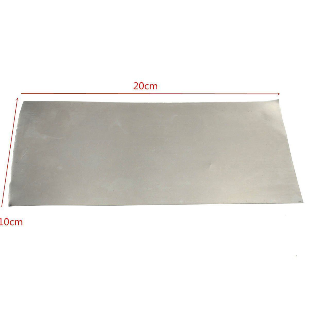 1pc Pure Nickel Plate Sheet Foil 0.3 Thickness 100x200mm Industry Tools Temperature Resistance 1sheet matte surface 3k 100% carbon fiber plate sheet 2mm thickness