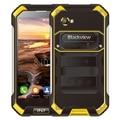 Оригинальный 4 Г Blackview BV6000 32 ГБ ROM 3 ГБ RAM IP67 Водонепроницаемый телефон 4500 мАч 4.7 дюймов Gorilla Glass Android 6.0 MT6755 Octa core