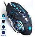 Игровая мышь Mause DPI Регулируемая компьютерная оптическая светодиодная игровая мышь проводная USB игровая кабель Бесшумная мышь LOL для профес...