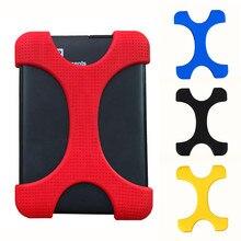 """6 цветов 2,"""" ударопрочный жесткий диск HDD Силиконовый чехол Защитная крышка для Seagate Backup Plus внешний жесткий диск"""