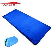 Ultra-light Multifuntion Polar Fleece Sleeping Bag Portable Outdoor Camping Travel Spring and Winter Warm Sleeping Bag Liner