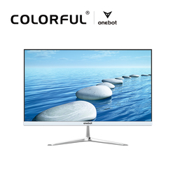 Onebot L2416 23.8 All-in-one Computer Desktop Dual Core G4400 120G SSD 4G DDR4 1920*1080 PC for Office Bussiness Entertainment