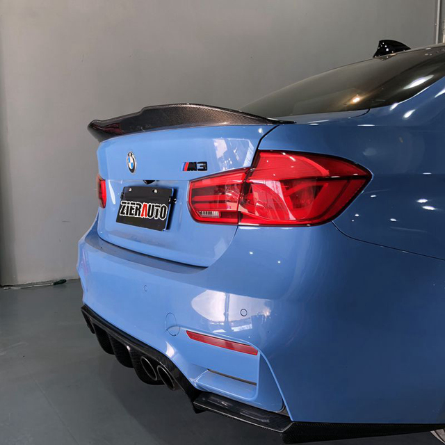 Carbon Fiber Spoiler For Bmw F30 Body Kits Carbon Styling Part F80
