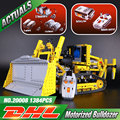 LEPIN 20008 serie técnica contro remoto l el bulldozer Modelo de kits de Montaje de bloques de Construcción Ladrillos Compatible con 42030