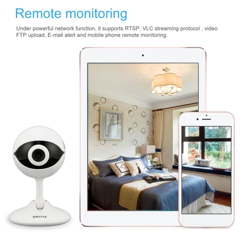 все цены на Secrui N61 Wireless Home Security IP Camera Wireless Mini IP Camera Surveillance CCTV Camera Wifi 720P Night Vision Baby Monitor онлайн