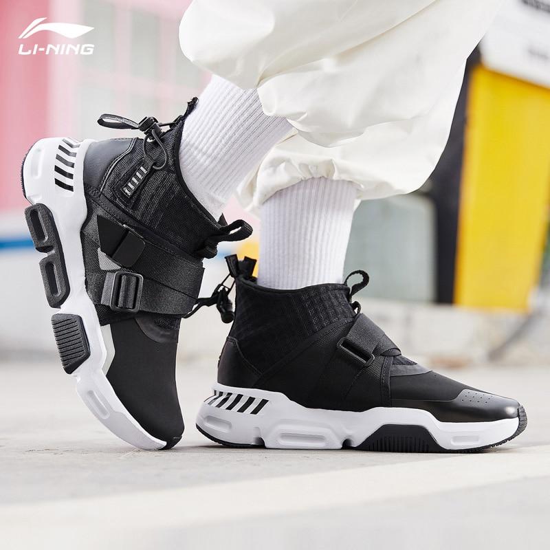ad34aa45 Li-Ning/Женская обувь для повседневной носки, нескользящие спортивные  кроссовки на молнии,