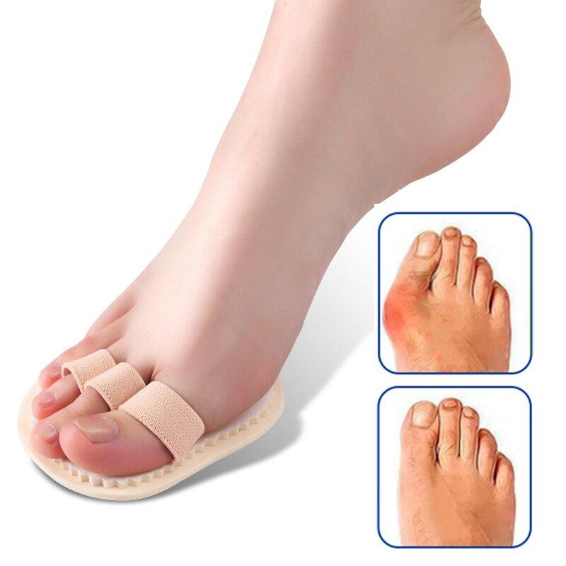 1Pcs Feet Care Hallux Valgus Orthopedic Pads Hammer Toe Straightener Corrector Posture Foot Massager Pedicure Tools Pain Relief