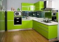 High gloss/lacquer kitchen cabinet mordern(LH LA092)